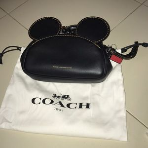 Brand New Mickey Coach Bag